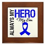AlwaysMyHero Son Framed Tile
