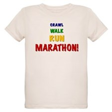 Crawl Walk Run Marathon T-Shirt
