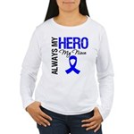 AlwaysMyHero Niece Women's Long Sleeve T-Shirt