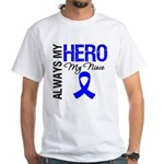 AlwaysMyHero Niece White T-Shirt