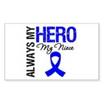 AlwaysMyHero Niece Rectangle Sticker