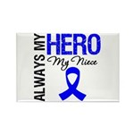 AlwaysMyHero Niece Rectangle Magnet (100 pack)
