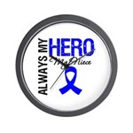 AlwaysMyHero Niece Wall Clock