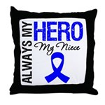 AlwaysMyHero Niece Throw Pillow