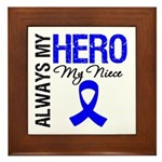 AlwaysMyHero Niece Framed Tile