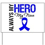 AlwaysMyHero Niece Yard Sign
