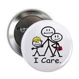 I Care (kids) Button