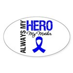 AlwaysMyHero Mother Oval Sticker (50 pk)