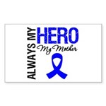 AlwaysMyHero Mother Rectangle Sticker 50 pk)