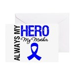 AlwaysMyHero Mother Greeting Card