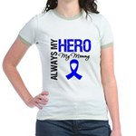 AlwaysMyHero Mommy Jr. Ringer T-Shirt