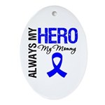 AlwaysMyHero Mommy Oval Ornament