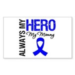 AlwaysMyHero Mommy Rectangle Sticker