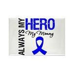 AlwaysMyHero Mommy Rectangle Magnet