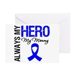 AlwaysMyHero Mommy Greeting Card