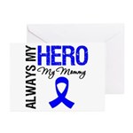 AlwaysMyHero Mommy Greeting Cards (Pk of 10)