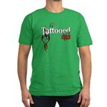 Tattooed Chick Men's Fitted T-Shirt (dark)