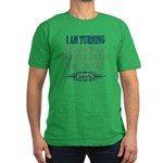 New Leaf Men's Fitted T-Shirt (dark)