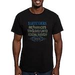 Bartenders Men's Fitted T-Shirt (dark)