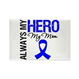AlwaysMyHero Mom Rectangle Magnet (10 pack)