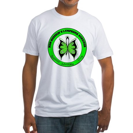 Non-Hodgkin's Survivor Fitted T-Shirt