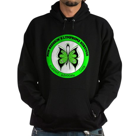 Non-Hodgkin's Survivor Hoodie (dark)