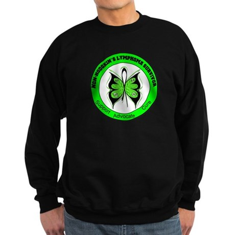 Non-Hodgkin's Survivor Sweatshirt (dark)