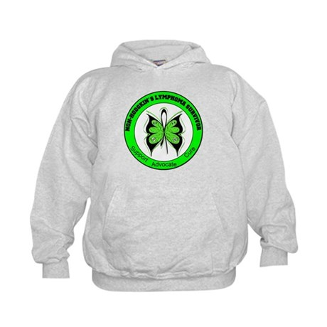 Non-Hodgkin's Survivor Kids Hoodie