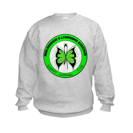 Non-Hodgkin's Survivor Kids Sweatshirt