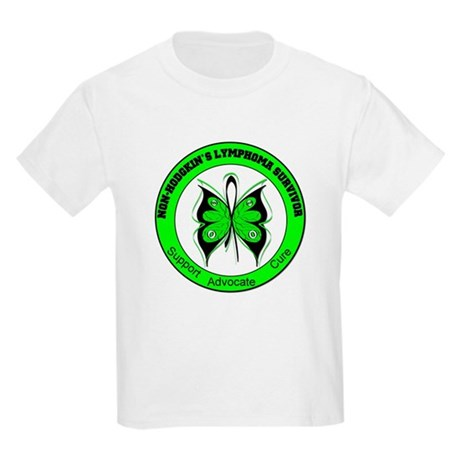 Non-Hodgkin's Survivor Kids Light T-Shirt