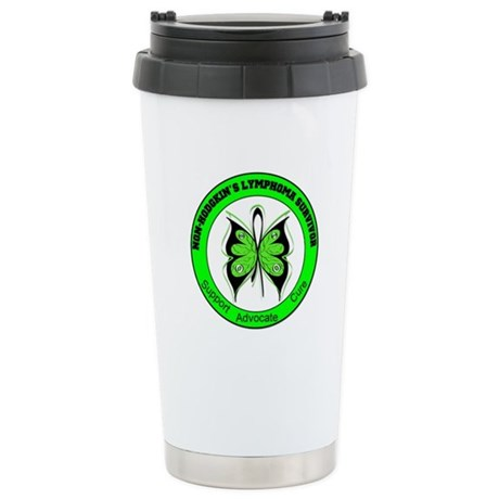 Non-Hodgkin's Survivor Ceramic Travel Mug