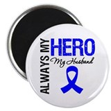 "AlwaysMyHero Husband 2.25"" Magnet (100 pack)"