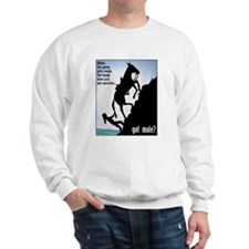 Got Mule? (Woman) Sweatshirt