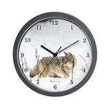 Coyote Wall Clock (Snowz)
