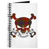 Fraser Tartan Skull Journal