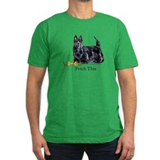 Scottish Terrier Holiday Dog T
