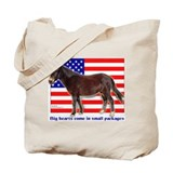 Patriotic Mini Mule Tote Bag
