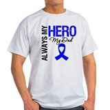 AlwaysMyHero Dad T-Shirt