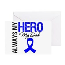 AlwaysMyHero Dad Greeting Card