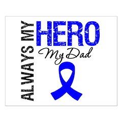 AlwaysMyHero Dad Posters