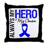 AlwaysMyHero Cousin Throw Pillow