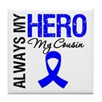 AlwaysMyHero Cousin Tile Coaster