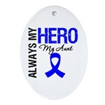 AlwaysMyHero Aunt Oval Ornament
