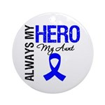 AlwaysMyHero Aunt Ornament (Round)