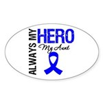 AlwaysMyHero Aunt Oval Sticker (50 pk)