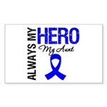 AlwaysMyHero Aunt Rectangle Sticker 50 pk)