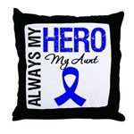 AlwaysMyHero Aunt Throw Pillow