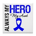 AlwaysMyHero Aunt Tile Coaster