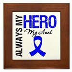 AlwaysMyHero Aunt Framed Tile