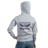 HodgkinsSurvivorWings Zipped Hoody
